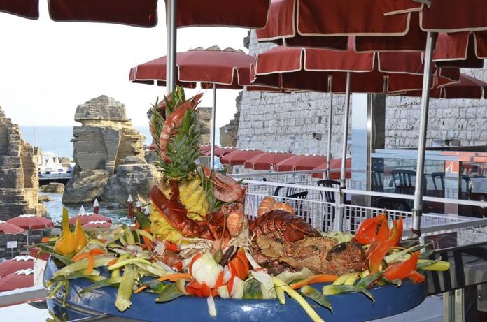 Il ristorante bagno marino archi santa cesarea terme stabilimento balneare - Bagno marino archi ...